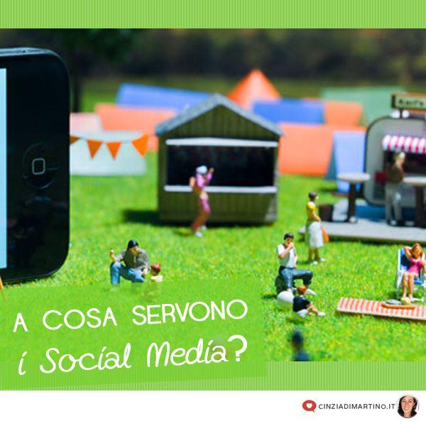 A cosa servono i social media?