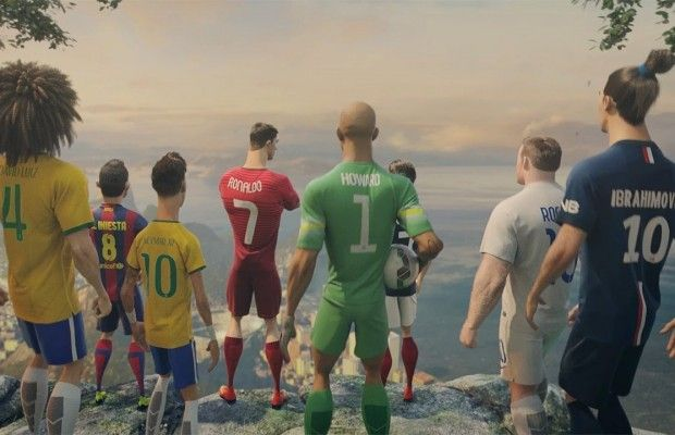 Futbolla ilgili yapılmış en iyi reklamlar