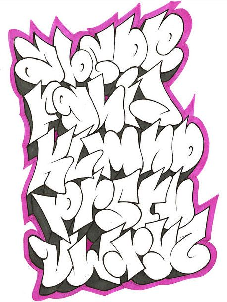 tag lettering alphabet cool graffiti alphabet letters by gar one graffiti tutorial