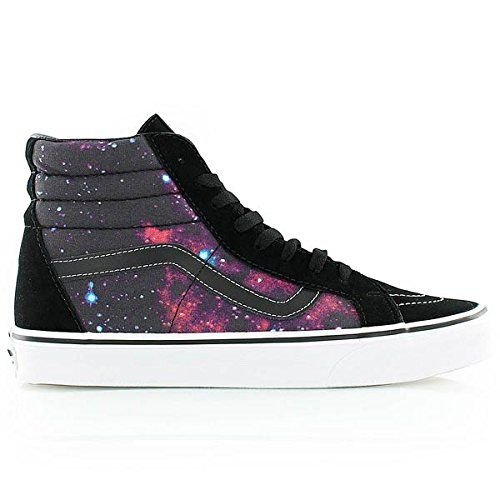 Vans Unisex Sk8Hi Reissue Cosmic BlackTrue White Skate Shoe 9 Men US  105 Women US *** Want to know more, click on the image.