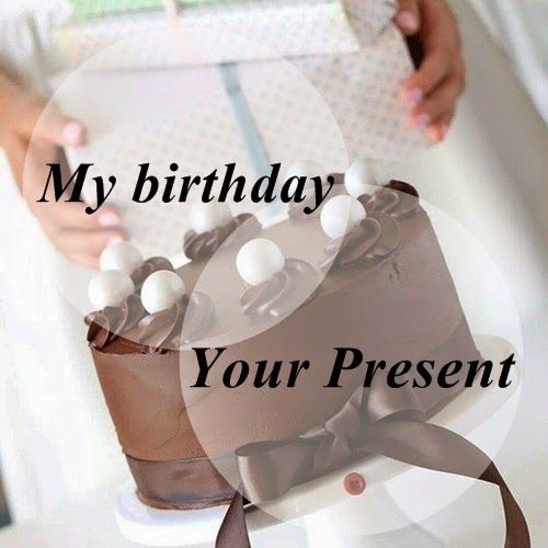 Living on Stilettos: Giveaway - My Birthday, Your Present