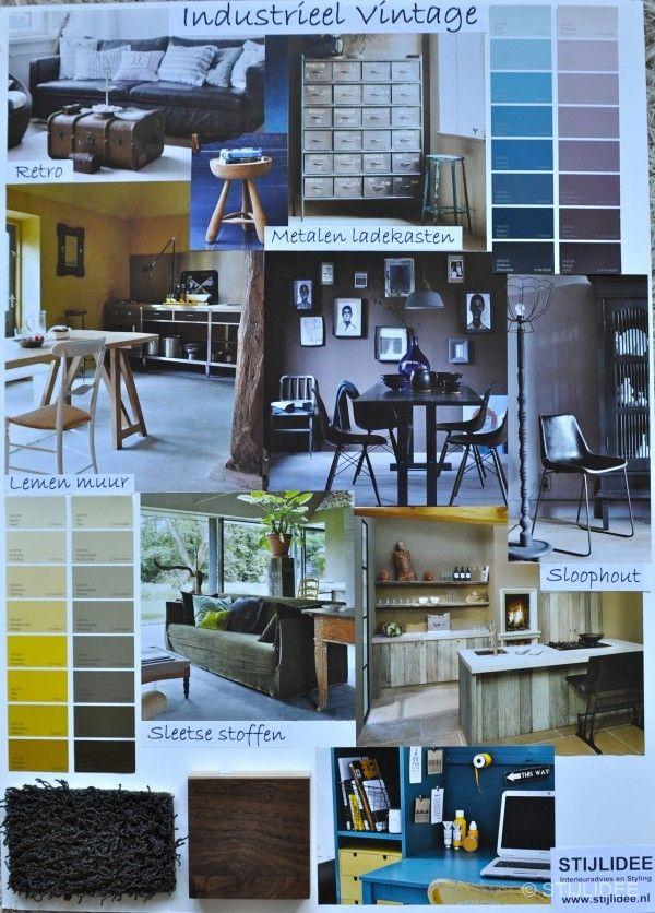 1000 images about stijlidee moodboards woonstijlen for Interieur ontwerper