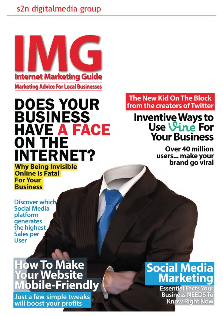 December's edition - The digital magazine design to help businesses market online. https://s2ndigitalmedia.leadpages.net/internet-marketing-guide/