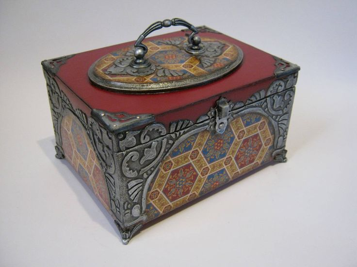 Decorative box. storage box memory. box handmade. box wooden box. unique box. box storage box.decoupage wood box by ElenShudra on Etsy