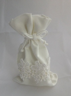 Lace Bag filled with Candles