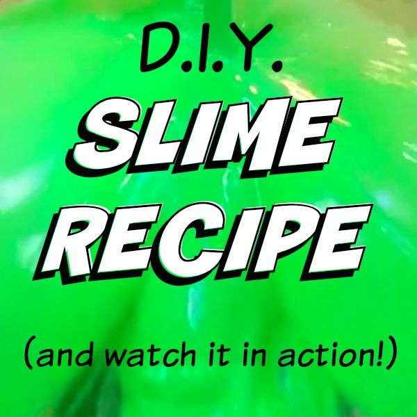 Slime Recipe by Kim Bongiorno | how to make Nickelodeon slime at home just in time for the KCAs | funny mom video | green slime recipe