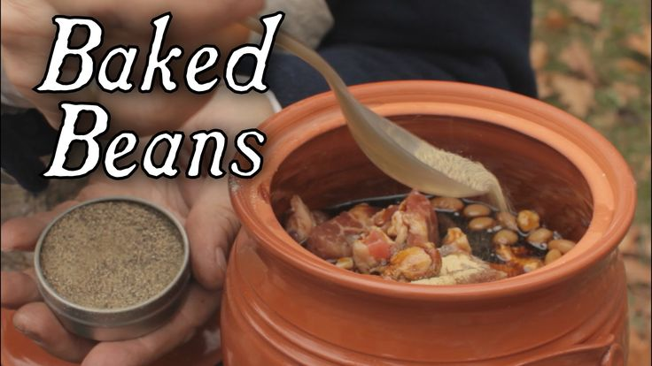 Baked Beans - 18th Century Cooking Series at Jas Townsend and Son