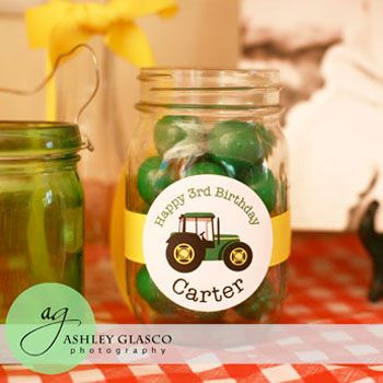 Tractor party themes