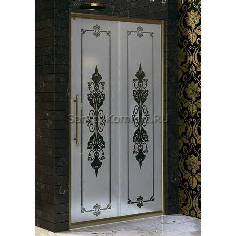 Дверь в нишу Huppe Enjoy Victorian (120 см) EV0502 - Huppe (Германия) <- Душевые двери в нишу - Каталог | СантехКомфорт