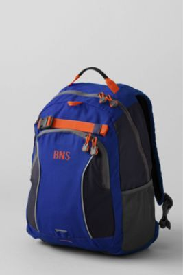 School Uniform Solid ClassMate® Medium Backpack from Lands' End
