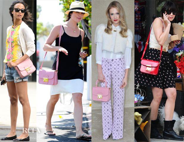 Celebrities Love The Miu Miu Madras Bag