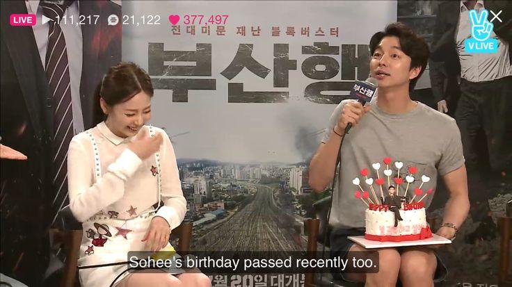 Busan Haeng movie talk live