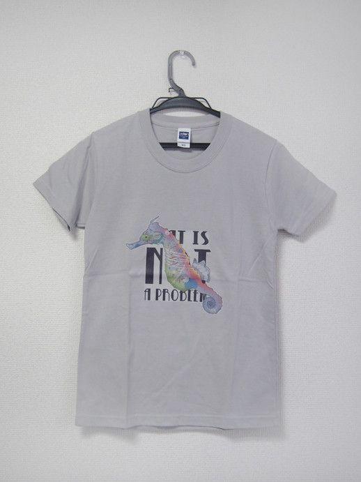 Pink Elephant - Tshirt - SeahorseアイロンプリントTシャツ*アイロンプリントは通常の商品より洗濯などによるダメージが起きやすい...|ハンドメイド、手作り、手仕事品の通販・販売・購入ならCreema。