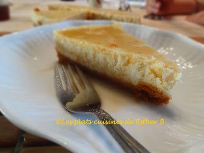Les plats cuisinés de Esther B: Gâteau au fromage au sirop d'érable