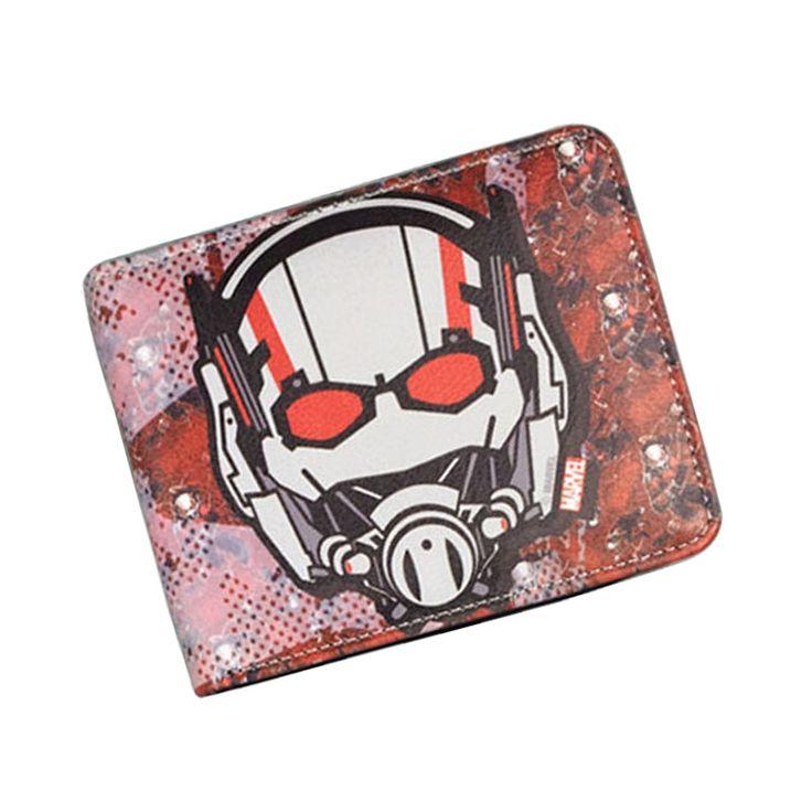 $4.23 (Buy here: https://alitems.com/g/1e8d114494ebda23ff8b16525dc3e8/?i=5&ulp=https%3A%2F%2Fwww.aliexpress.com%2Fitem%2FComics-DC-Marvel-Top-Brand-Wallet-Ant-man-Leather-Purse-Cartoon-Anime-Bag-Men-Women-Wallets%2F32607240821.html ) Comics DC Marvel Top Brand Wallet Ant-man Leather Purse Cartoon Anime Bag Men Women Short Wallets 11.5*9 cm billetera hombre for just $4.23