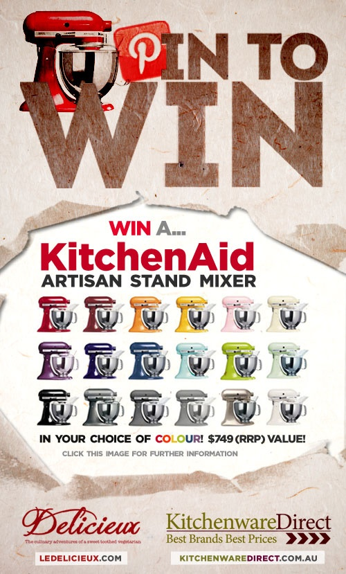 Pin to Win a KitchenAid