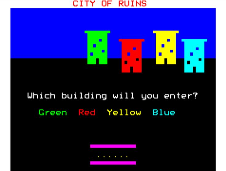 Flowers of Crystal BBC Micro game
