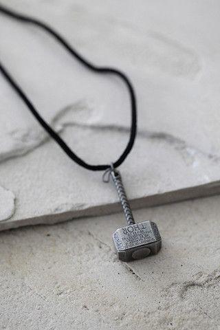 Marvel Thor Hammer Necklace