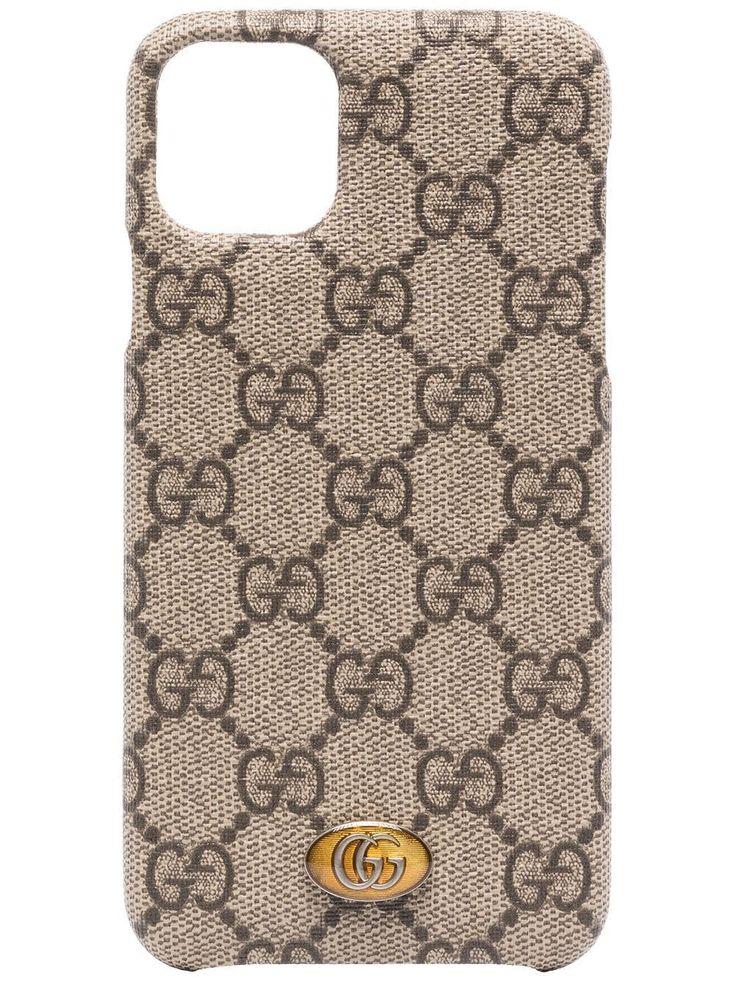 Gucci iPhone 11 Pro Max Ophidia case NEUTRALS in 2020