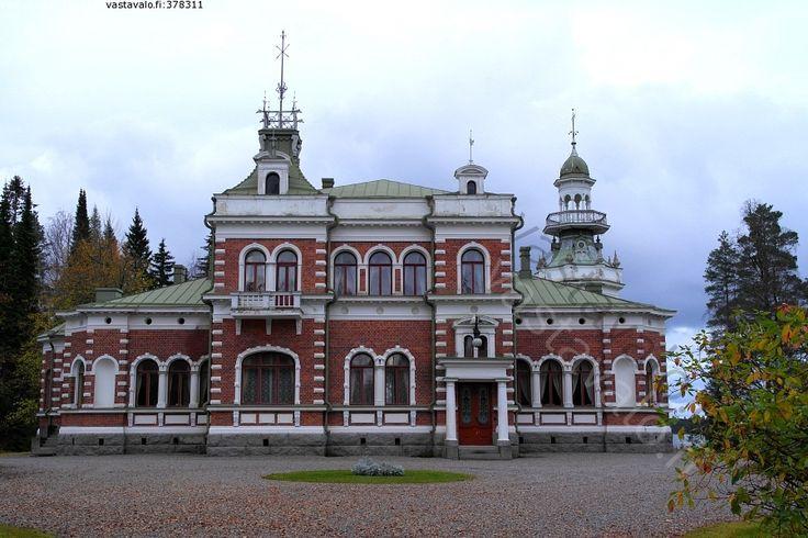 Inha manor 1899, South Ostrobothnia province of Western Finland. -  Ähtäri, Etelä-Pohjanmaa.