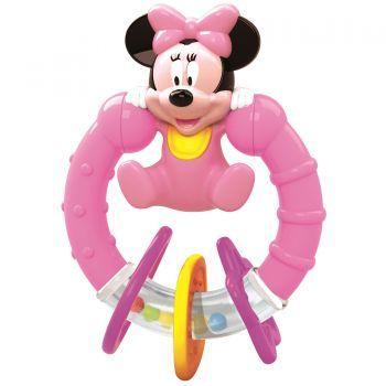 Jucarie interactiva Baby Clementoni Zornaitoare Minnie Mouse