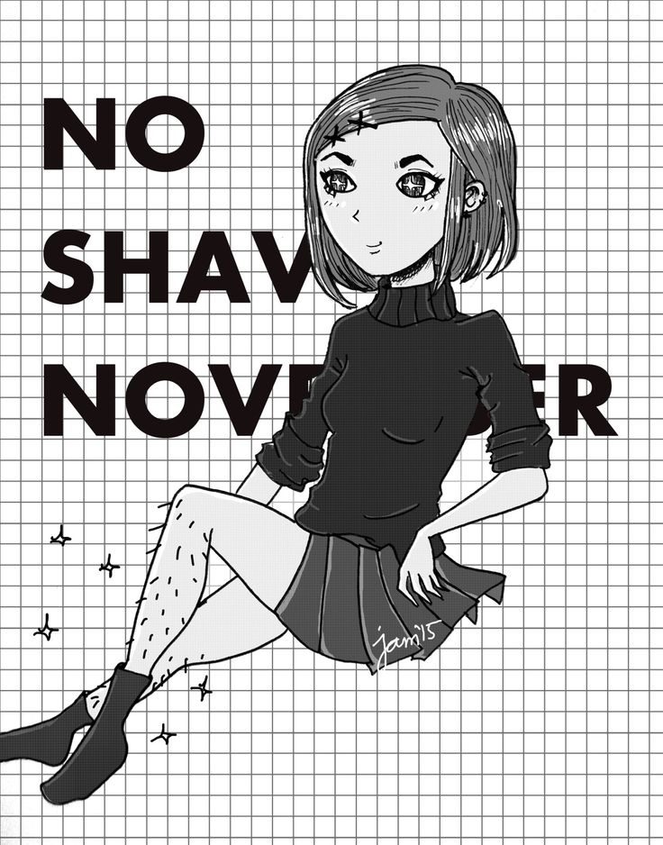 No Shave November for us ladies too.