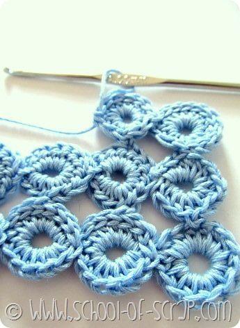 Scuola di Uncinetto: tutorial del Punto Bolla (Bubble Stitch)