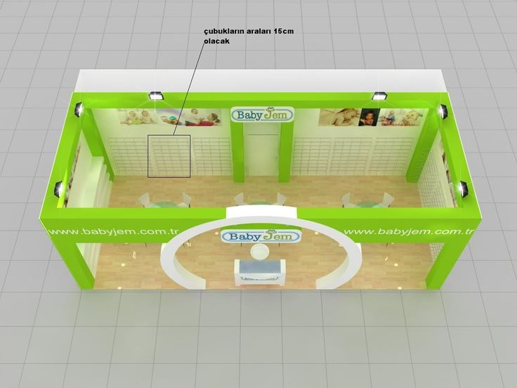 Babyjem  Exhibition Stand Design
