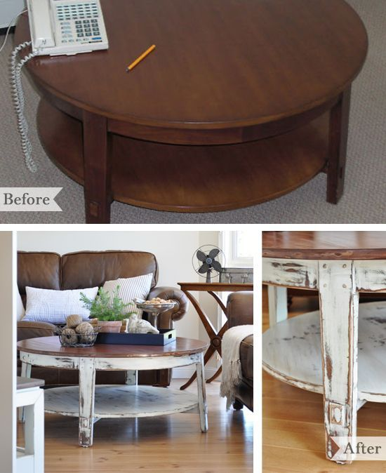 Decorating With Distressed Furniture: 199 Best Painted Table And Chairs Images On Pinterest