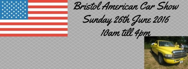 American Car Show in Bristol on Sunday 26 June 2016 at Yate Town Football Club