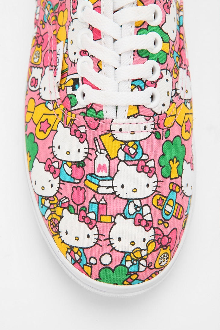 Vans x Hello Kitty Lo Pro Sneaker $50 -@Kaitlyn Spencer