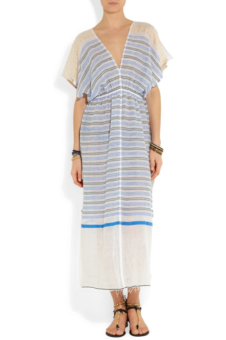 Striped cotton cover-up Lemlem ff8xSc86X