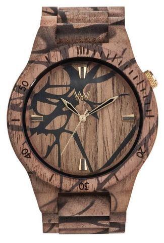 Wooden watch Alpha Nature Tree Nut