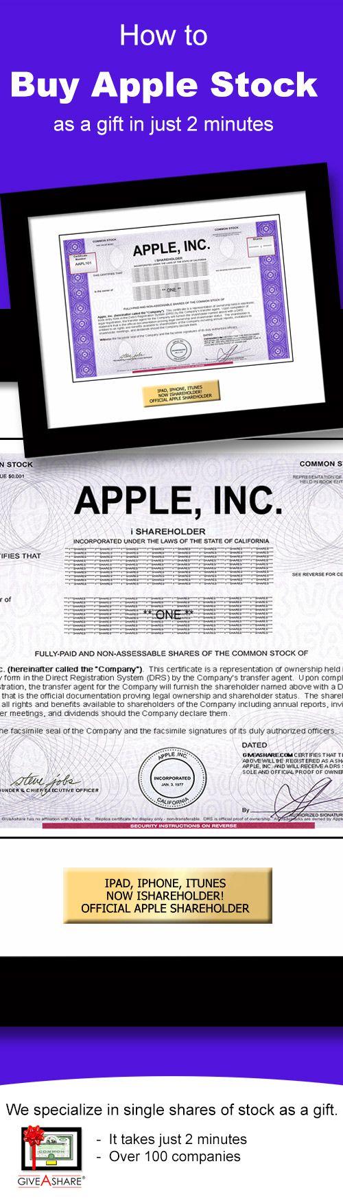 Buy Apple Stock