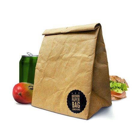 【Suck UK】brown paper bag タイベック