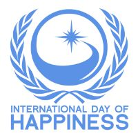 Happy? — International Day of Happiness - 20 March 2016 - link to more info & free printable motivational posters