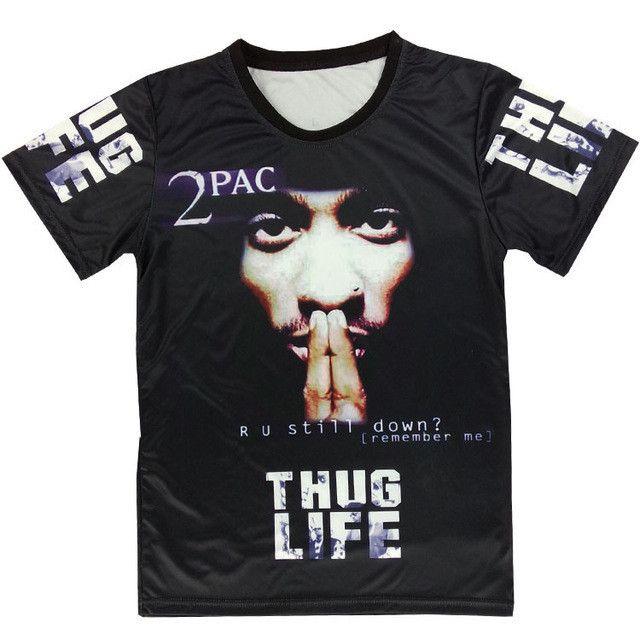 """Tupac """"Thug Life"""" T-Shirt"""