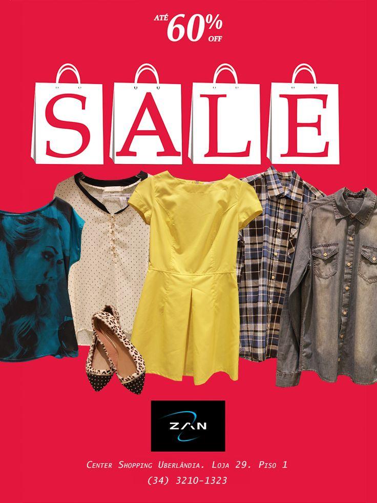 Super promoção Zan. Até 60% off #zanbrasil #zanfashion #sale