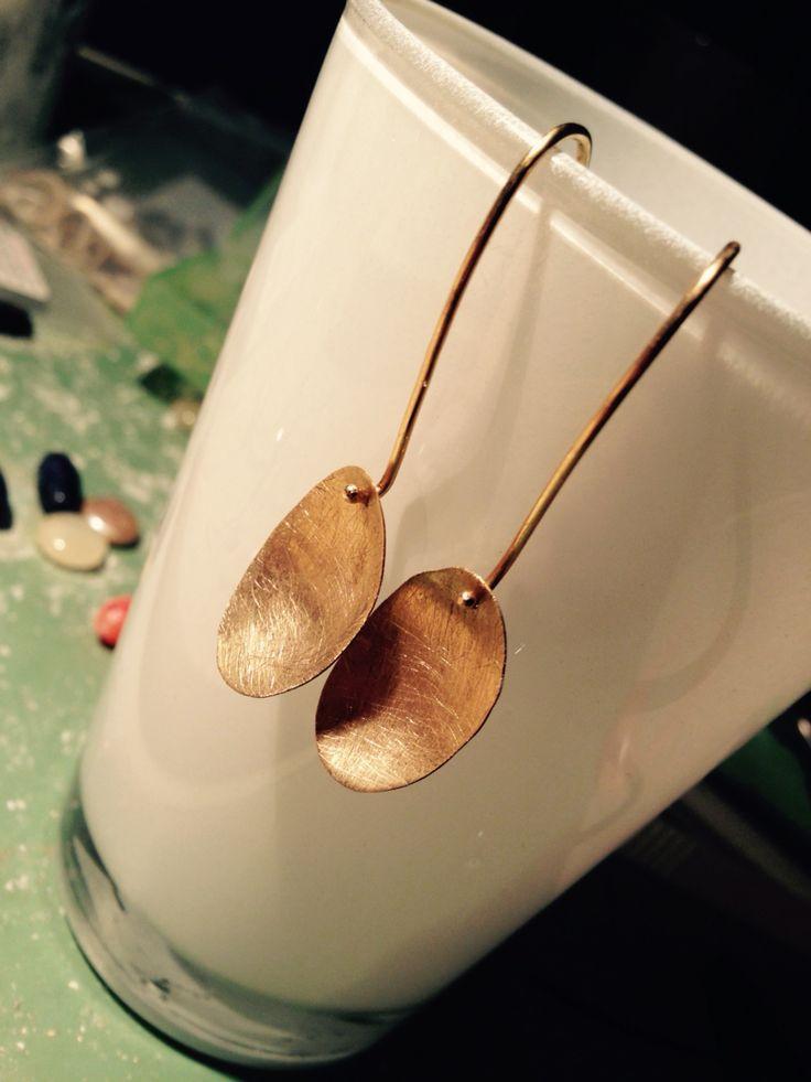 18 kt gouden oorbellen