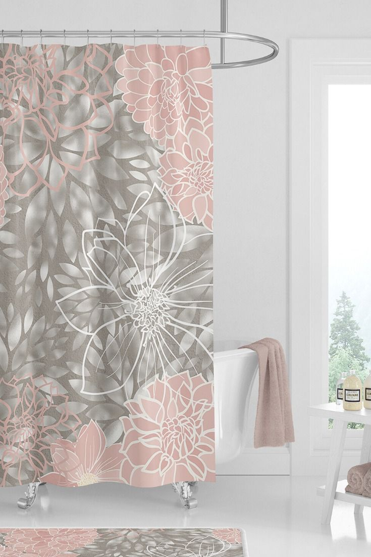 Pretty Bathroom Ideas Beautiful Shower Curtain For Girls Bathroom