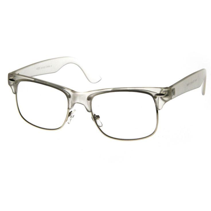 Half Frame Glasses Americas Best : Clubmaster Eyeglasses Frames Images & Pictures - Becuo