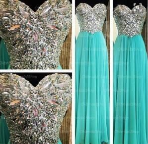 Tiffany prom dress, blue prom dress, rhinestone prom dress, 2015 prom dress, cheap prom dresses, sexy prom dress