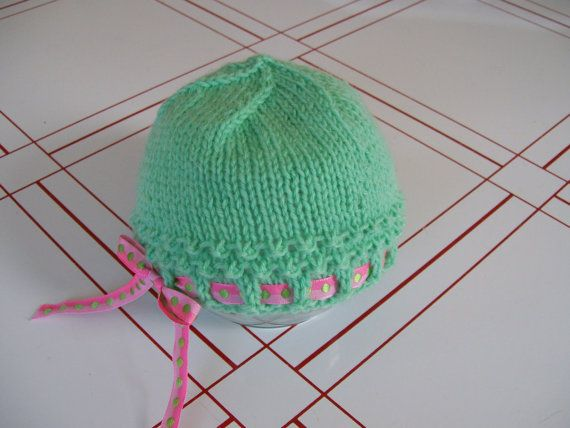 Knitted Spring Baby Hat Hats Babies Crochet