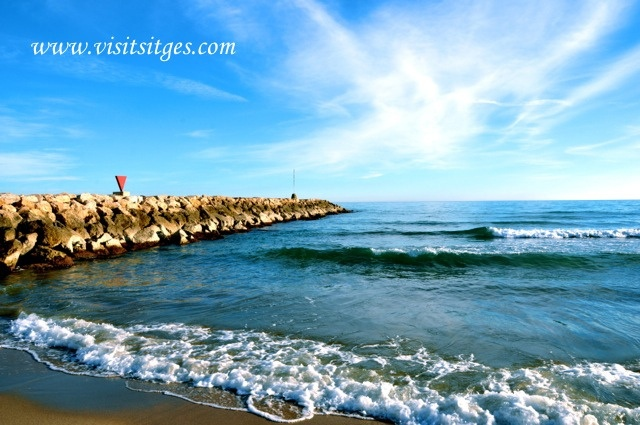 Sitges Beach, via Flickr.
