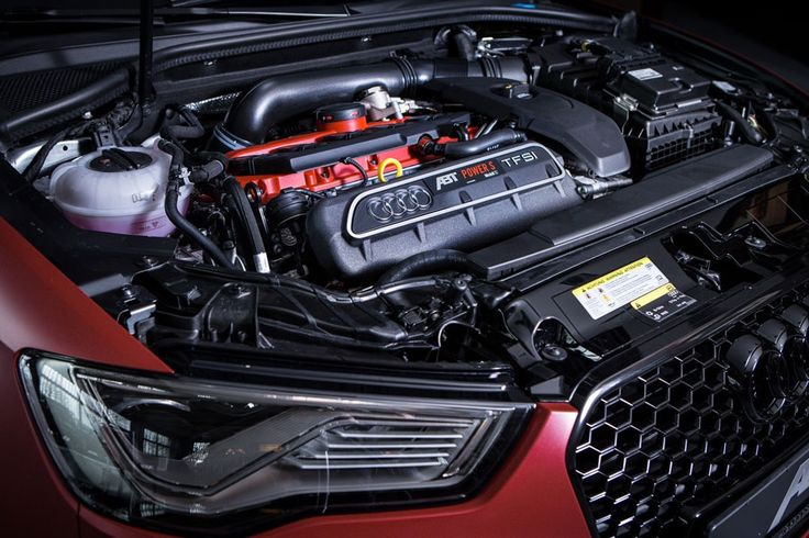 Tuner ABT Audi RS3 Back Modification Engine View