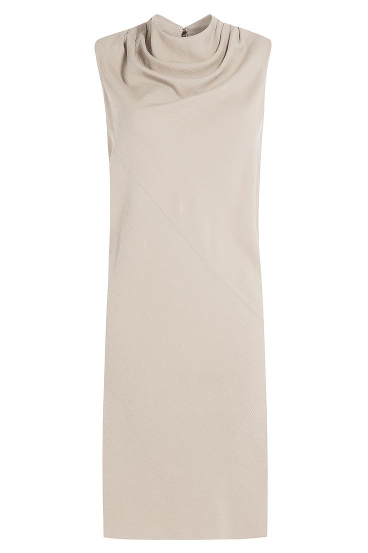 Rick Owens - Draped Crepe Dress