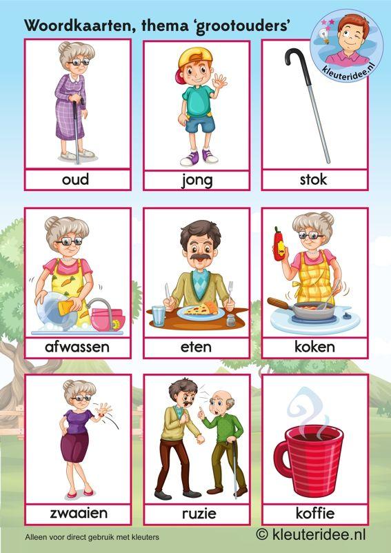 grootouders - woordkaart