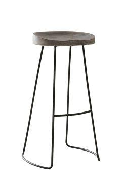 JÄRPEN barpall - stor Pall i rustik industriell stil som känns nätt tack vare sin tunna stomme i metall. Den utformade sitsen och fotstödet gör att du sitter bekvämt.<br>Material: Trä och metall.<br>Storlek: Höjd 74 cm, bredd 38 cm och djup 28 cm.<br>Beskrivning: Pall med sits av massivt trä och ben i metall. Fotstöd i metall. Ej stapelbar.<br>Skötselråd: Torkas med fuktig trasa.<br>Tips/råd: Pallen finns i tre storlekar. Du kan matcha pallen både till köks...