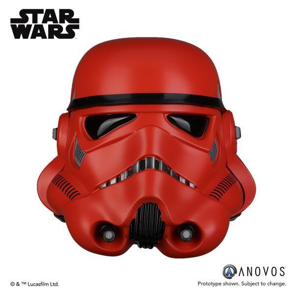 STAR WARS™ Crimson Stormtrooper Helmet Accessory