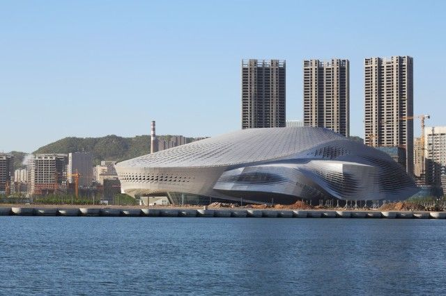 COOP HIMMELB(L)AU | Dalian International Conference Center on http://www.arthitectural.com